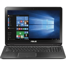 """Asus 2-in-1 15.6"""" Touch-Screen Intel Core i5 12GB Memory - 1TB HDD Black"""